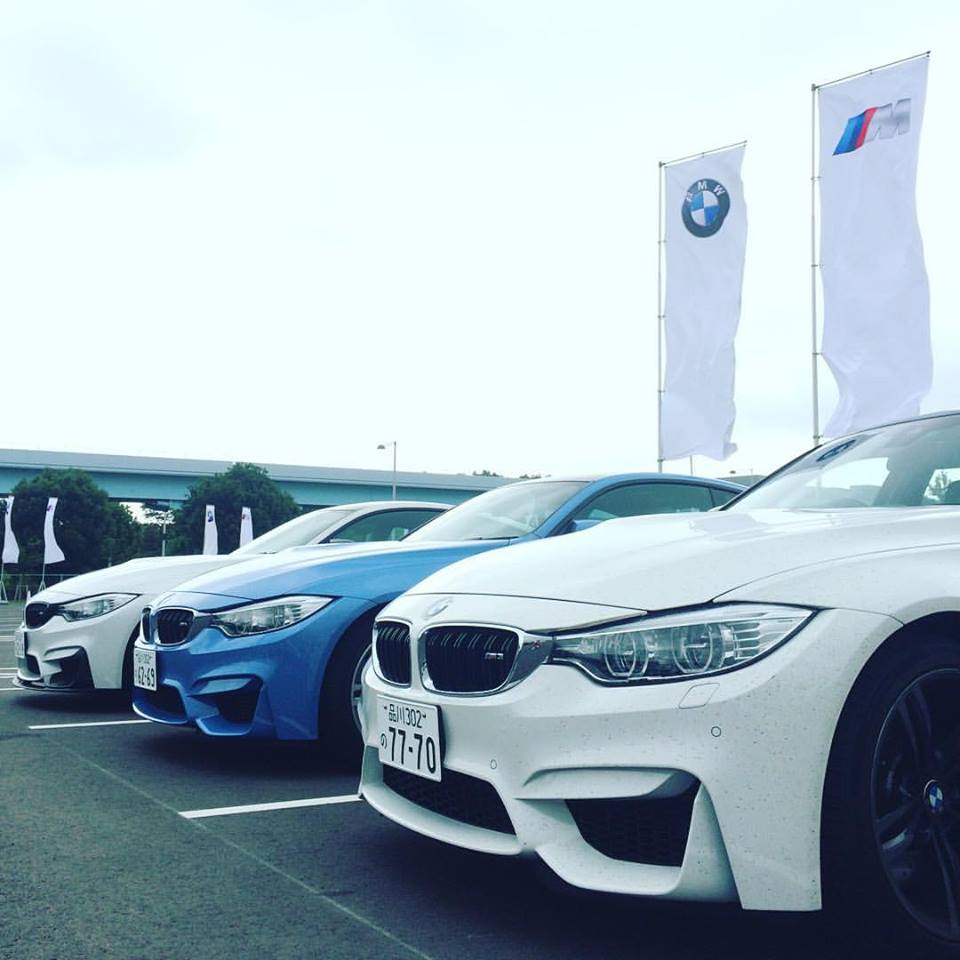 BMW GROUP Tokyo BayでM3 / M4ドリフト試乗会